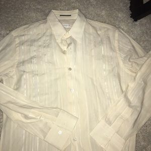 Creme vintage Paul Smith Shirt